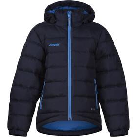 Bergans Down Jacket Kids Navy/Light Winter Sky